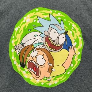 Rick and Morty Trippy Tshirt size 2xl